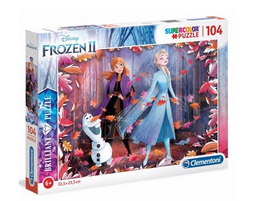 Puzzle 104 Brilliant Frozen 2 (GXP-702189)