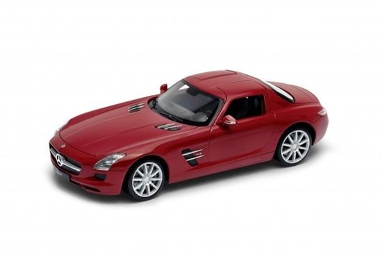 Model kolekcjonerski Mercedes-Benz SLS AMG czerwony (GXP-719903)