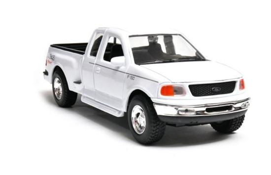 Model kolekcjonerski 1999 Ford F-150 Flareside Supercab Pick Up, biały (GXP-719501)