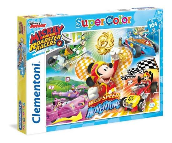 Clementoni Puzzle 104el Mickey Roadster Racers 27085 (27085 CLEMENTONI)