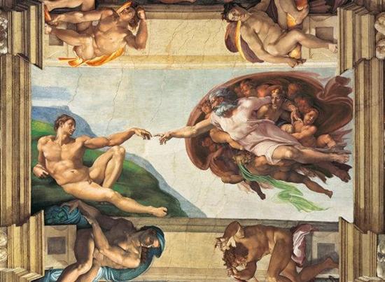 Clementoni Puzzle 1000el Museum Vatican The Creation of Man 31402 (31402 CLEMENTONI)