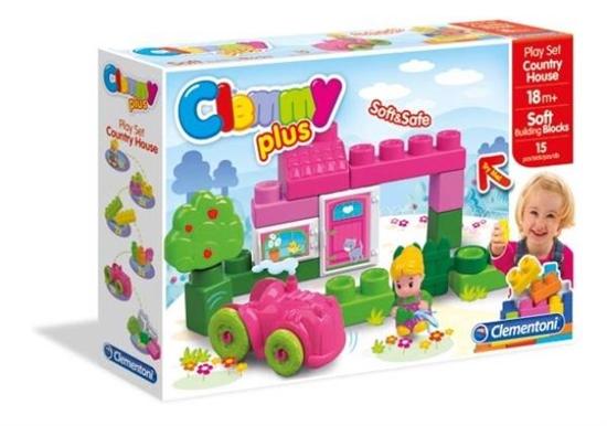 Clementoni Clemmy Plus Domek na wsi 14878 (14878 CLEMENTONI)