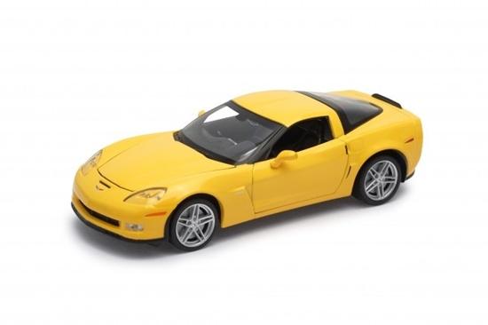Model kolekcjonerski 2007 Chevrolet Corvette Z06, żółty (GXP-719892)