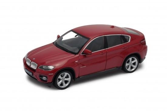 Model kolekcjonerski BMW X6, czerwony (GXP-719895)