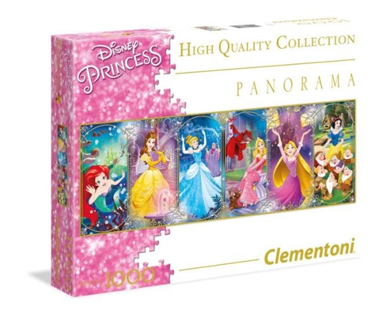 Clementoni Puzzle 1000el HQ Panorama Collection Princess 39390 (39390 CLEMENTONI)