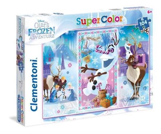 Clementoni Puzzle 104el 1 Olaf's Frozen Adventure 27093 (27093 CLEMENTONI)