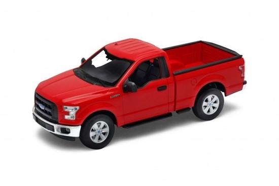 Model kolekcjonerski 2015 Ford F150 regular Cab, czerwony (GXP-719910)