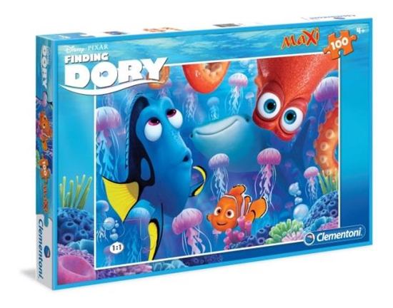 PROMO Clementoni Puzzle Maxi 100 el. SL Finding Dory 07524 (07524 CLEMENTONI)