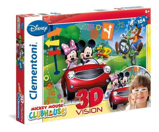 Clementoni Puzzle 104el 3D vision MMCH 20605 (20605 CLEMENTONI)
