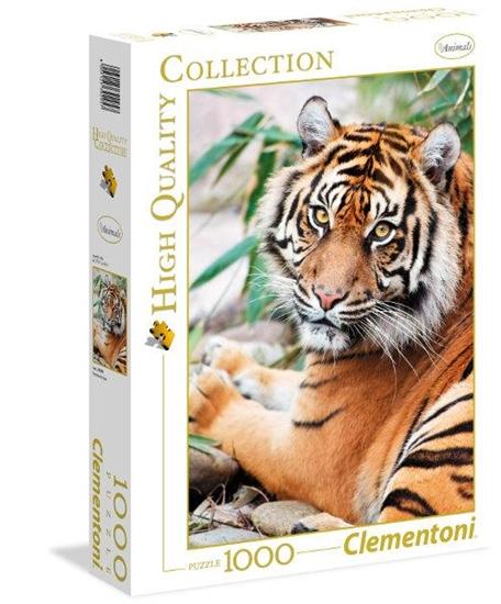 Clementoni Puzzle 1000el HQ Sumatran Tiger 39295 (39295 CLEMENTONI)