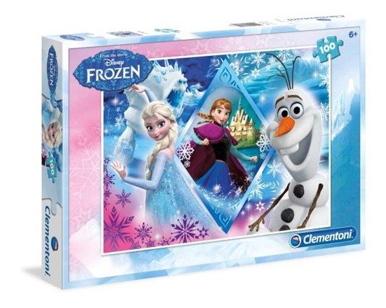 Clementoni Puzzle 100el Frozen 07230 (07230 CLEMENTONI)