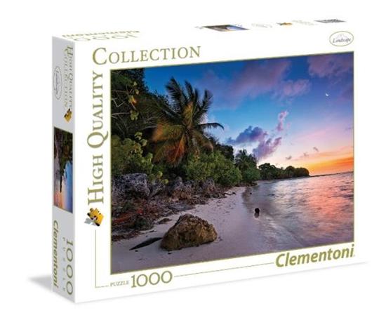 PROMO Clementoni Puzzle 1000el HQ Tropical beach 39337 (167913)