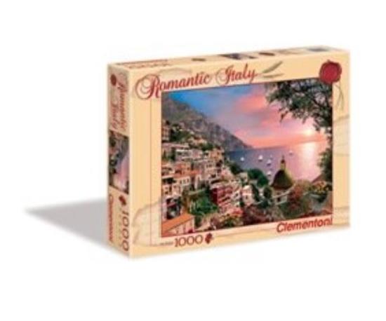 Clementoni Puzzle 1000el romantic Positano 39221 (39221 CLEMENTONI)