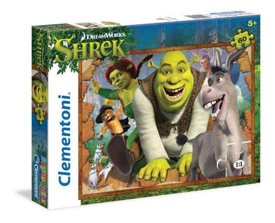 Clementoni Puzzle 60el Shrek 26945 (26945 CLEMENTONI)