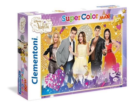 Clementoni Puzzle 104 el Maxi Violetta 23676 (23676 CLEMENTONI)