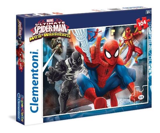 Clementoni Puzzle 104el  Spider Man 27958 (27958 CLEMENTONI)
