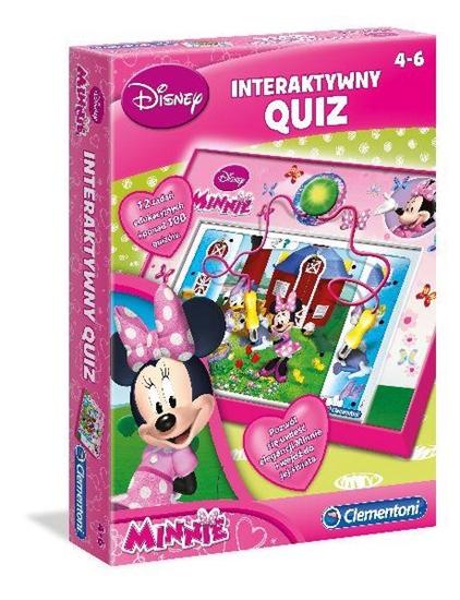 Clementoni Interaktywny quiz Minnie 60061 (60061 CLEMENTONI)