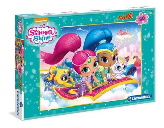 Clementoni Puzzle Maxi 30el Shimmer and Shine 07434 (07434 CLEMENTONI)