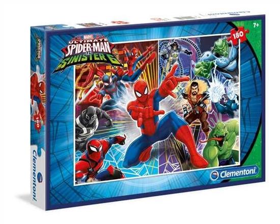 Clementoni Puzzle 180el Spider-Man Sinister Six 07340 (07340 CLEMENTONI)