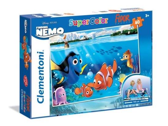 Clementoni Puzzle 40 el Podłogowe  Nemo  - Finding Nemo 25450 (25450 CLEMENTONI)