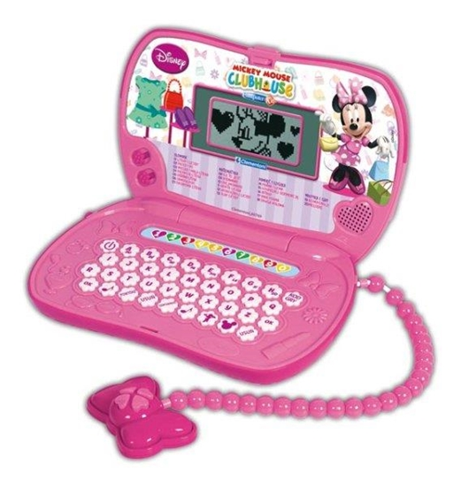 Clementoni Laptop Computer Kid Minnie torebka 60769 (60769 CLEMENTONI)