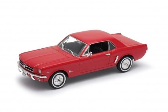 Model kolekcjonerski 1964-1/2 Ford Mustang Coupe, czerwony (GXP-719882)