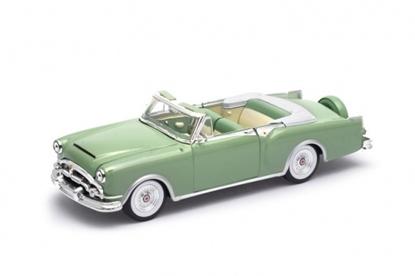 Model kolekcjonerski 1953 Packard Caribbean Convertible, zielony (GXP-719901)