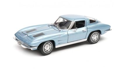 Model kolekcjonerski 1963 Chevrolet Corvette niebieski (GXP-719500)