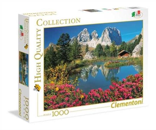 Clementoni Puzzle 1000el Italian Collection Passo Pordoi 39459 (39459 CLEMENTONI)