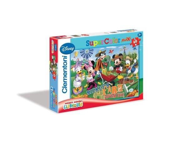 Clementoni Puzzle 60el Maxi MMCH Farm adventure 26736 (26736 CLEMENTONI)