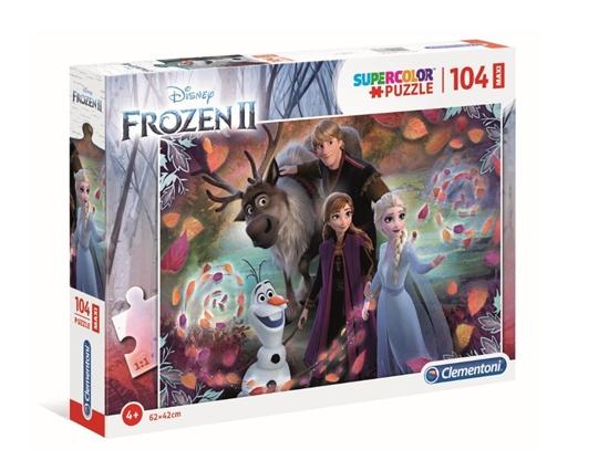 Puzzle 104 Maxi Super kolor Frozen 2