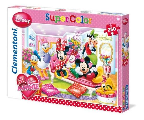 Clementoni Puzzle 250el I Love Minnie 29703 (29703 CLEMENTONI)