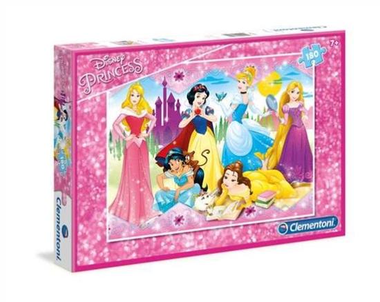 Clementoni Puzzle 180el Princess 07344 (07344 CLEMENTONI)