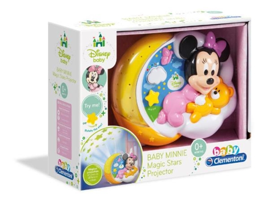 Clementoni Baby Projektor Myszki Minnie 17126, p6 cena za 1szt. (17126 CLEMENTONI)