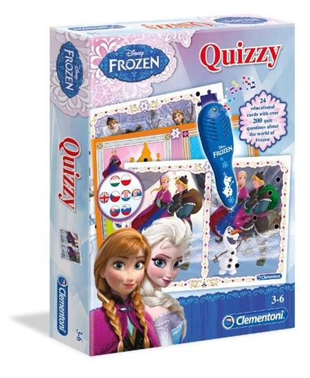 Clementoni Quizy Frozen 13927  p6, cena za 1szt. (13927 CLEMENTONI)