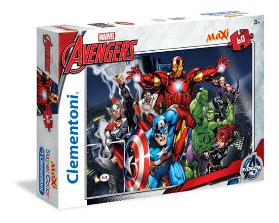 Clementoni Puzzle 60el Maxi The Avengers 26749 (26749 CLEMENTONI)