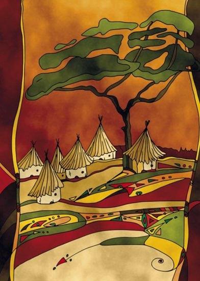 Clementoni Puzzle 500el sand Wieś (30351)