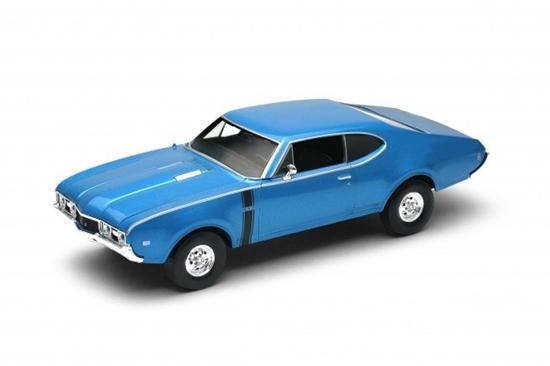 Samochód Oldsmobile 442 1968, niebieski (GXP-700581)