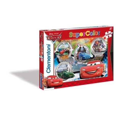 Clementoni Puzzle 104el Cars 27857 (27857 CLEMENTONI)