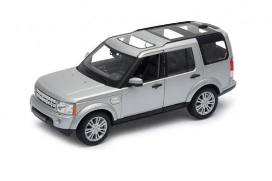 Model kolekcjonerski Land Rover Discovry 4, srebrny (GXP-719897)