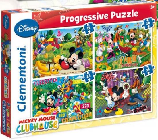Clementoni Puzzle 12+20+24+35el MMCH 21502 (21502 CLEMENTONI)