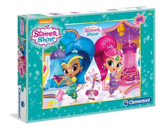 Clementoni Puzzle 100el  Shimmer and Shine 07256 (07256 CLEMENTONI)