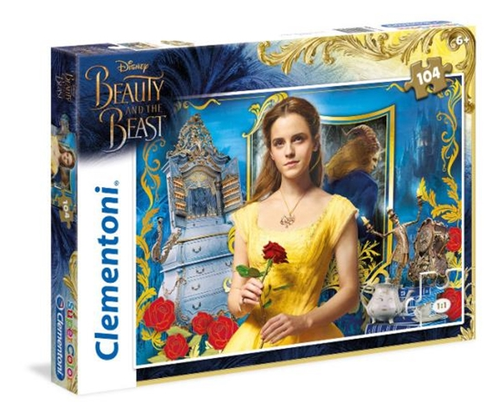 Clementoni Puzzle 104el The Beauty and the Beast - A Grand Romance 27989 (27989 CLEMENTONI)