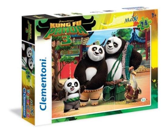 Clementoni Puzzle Maxi 24el Kung Fu Panda 3 24475 (24475 CLEMENTONI)