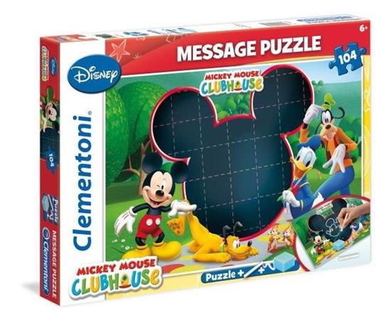 Clementoni Puzzle 104el message MMCH 20232 (20232 CLEMENTONI)