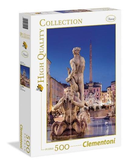 Clementoni Puzzle 500 el HQ Piazza Navona 30445 (30445 CLEMENTONI)