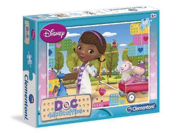 Clementoni Puzzle 60el Doc McStuffins 08406 (08406 CLEMENTONI)