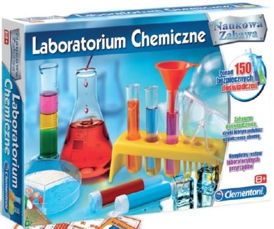 Clementoni Laboratorium chemiczne 60078 (60078 CLEMENTONI)