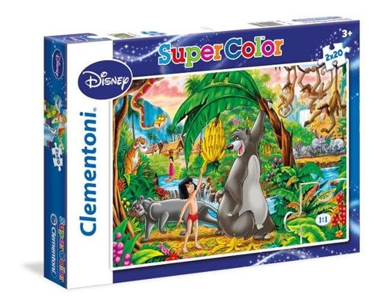 Clementoni Puzzle 2x20el Peter Pan 24739 (24739 CLEMENTONI)