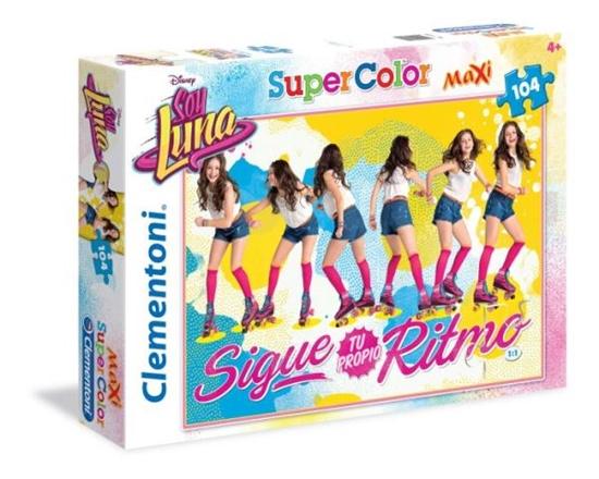 Clementoni Puzzle Maxi 104 el. Soy Luna 23980 (23980 CLEMENTONI)